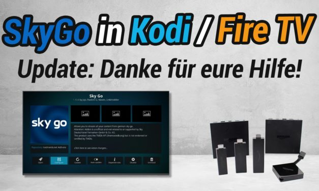 Update: Kodi-SkyGo-Addon Problematik