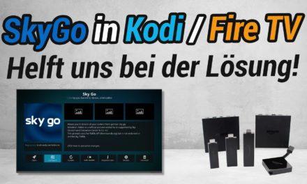 Umfrage: Warum funktioniert das Kodi-SkyGo-Addon bei manchen nicht?