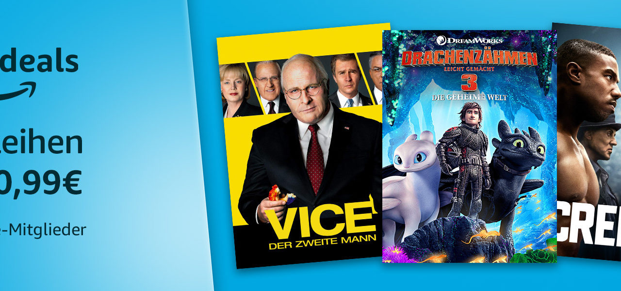 Freitag-Filme-Abend bei Amazon: 12 Filme für je 0,99€ mieten