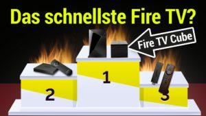 Benchmark Test - Welches ist das schnellste Fire TV?