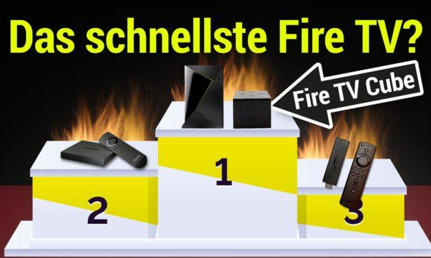 Benchmark-Test des Fire TV Cube 2: Schnellstes Fire TV aller Zeiten!