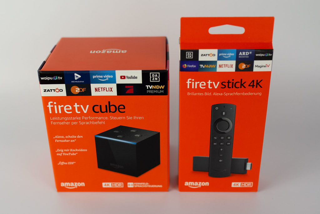 Fire TV Cube oder 4K Fire TV Stick