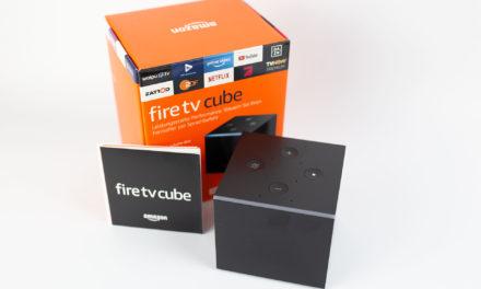 Unser deutscher Fire TV Cube 2 ist eingetroffen – wir setzen uns jetzt an die Tests