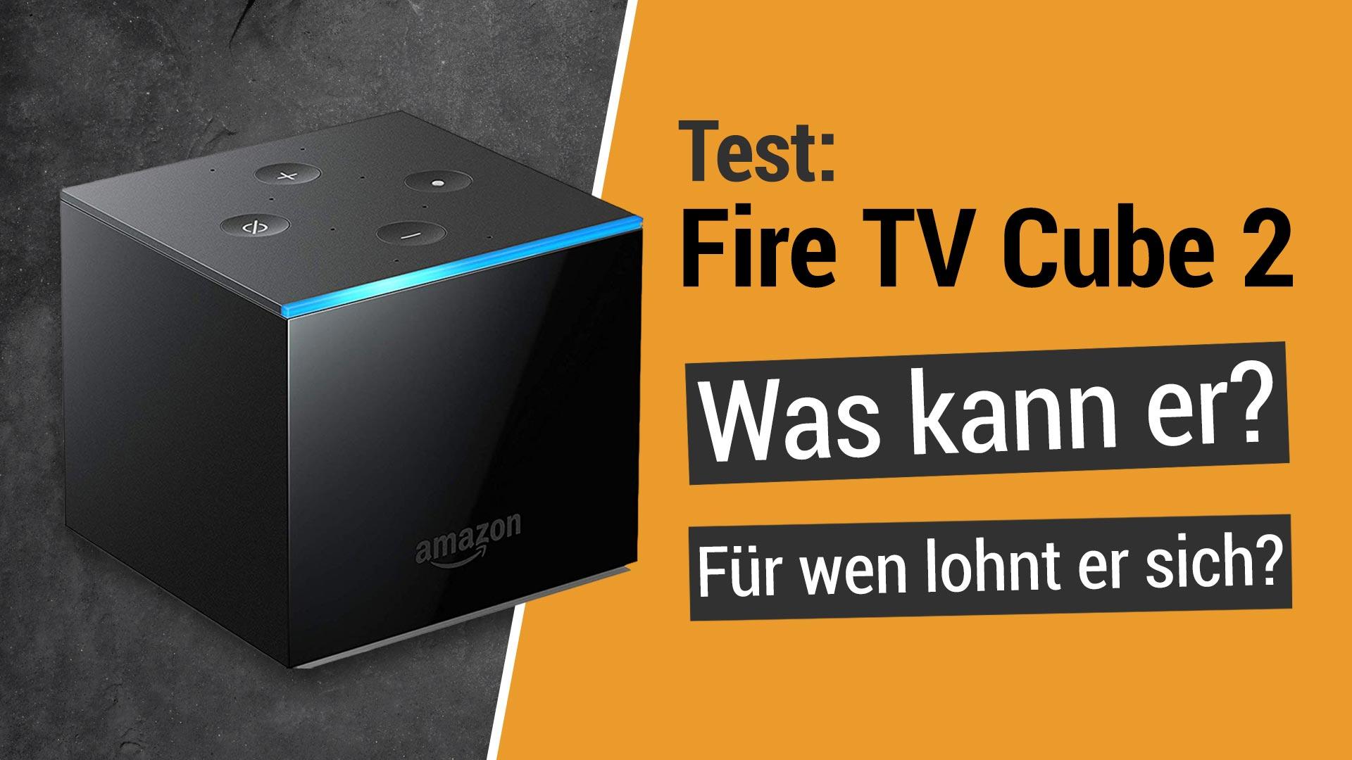 Test: Fire TV Cube 2: Was kann er & lohnt er sich? (deutsch)