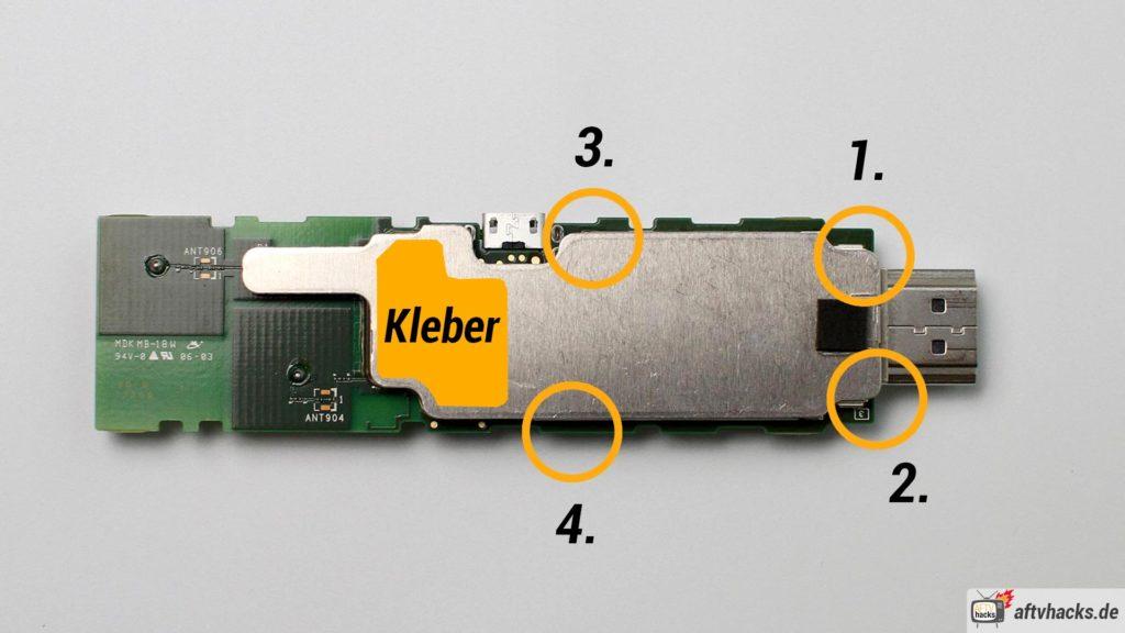 Das Gehäuse ist am einfachsten zu öffnen, wenn man unsere Reihenfolge einhält. Am schwierigsten ist der Bereich, an dem sich der Kleber zwischen Kühlkörper und Hauptprozessor befindet.