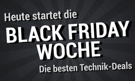 Heute startet die Black Friday Woche 2019 – Das sind die besten Technik-Deals
