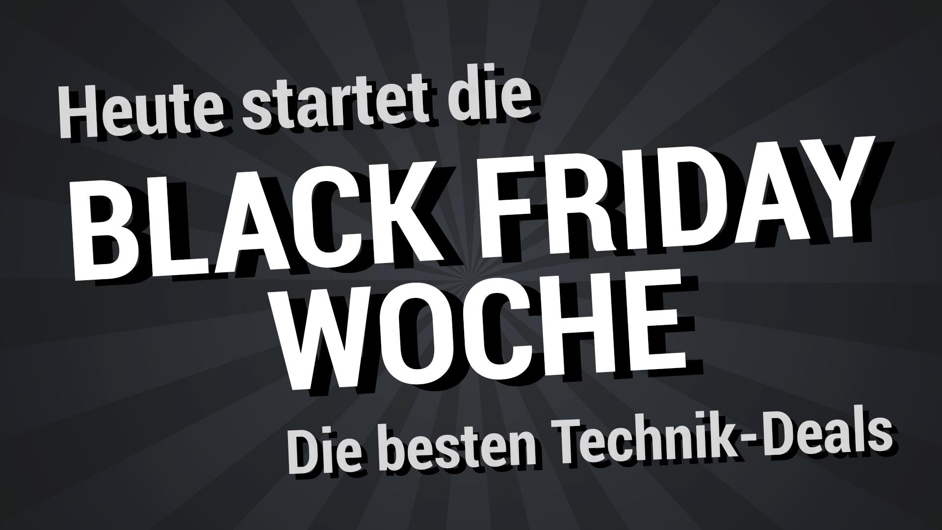 Die besten Deals zum Start der amazon Black Friday Woche 2019