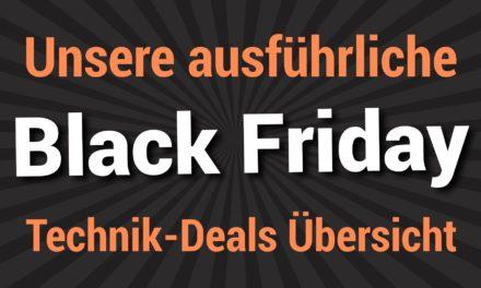 Der Black Friday 2019 ist gestartet – das sind die besten Technik-Deals