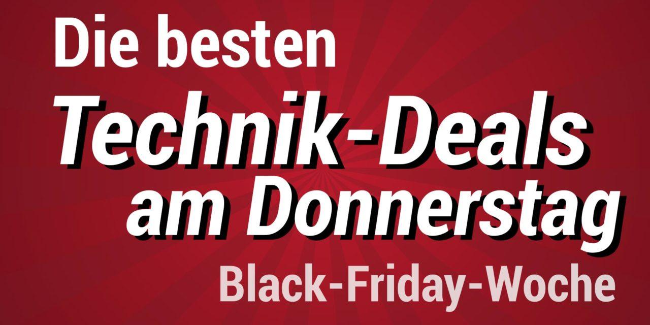 Die besten Technik am Donnerstag der Amazon Black Friday Woche