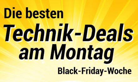 Die besten Technik-Deals am Montag der Black Friday Woche 2019