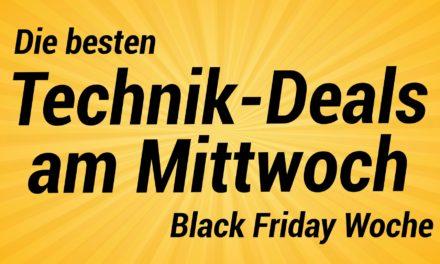 Die besten Technik am Mittwoch der Amazon Black Friday Woche