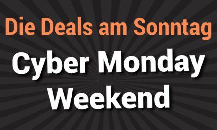 Die besten Deals vom Sonntag des Cyber Monday Wochenendes 2019