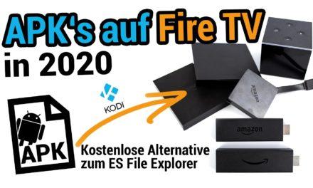 APKs auf dem Fire TV installieren – Kostenlose Alternative zu ES Datei Explorer Premium