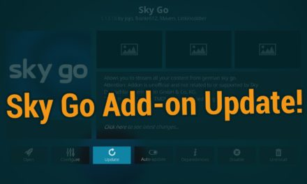 Update: SkyGo in Kodi auf dem Fire TV mit Add-on 1.13.18 – Februar 2020