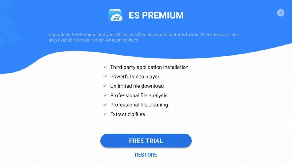 Apks im ES File Explorer installieren nur noch in kostenpflichtiger Premium Version