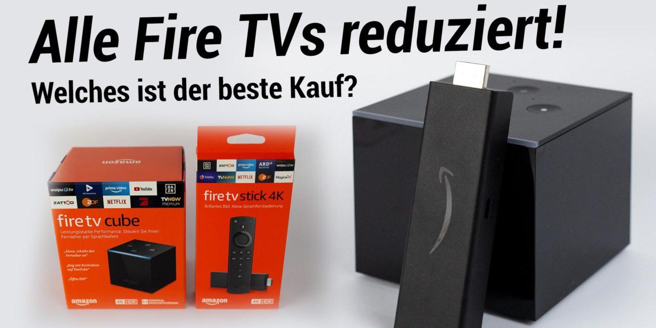 Deal: Aktuell alle Fire TVs und mehr reduziert