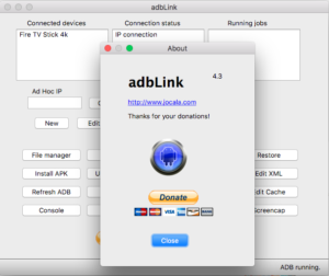 adbLink ist in Version 4.3 erschienen - und endlich ist der unauthorized Verbindungs-Fehler behoben