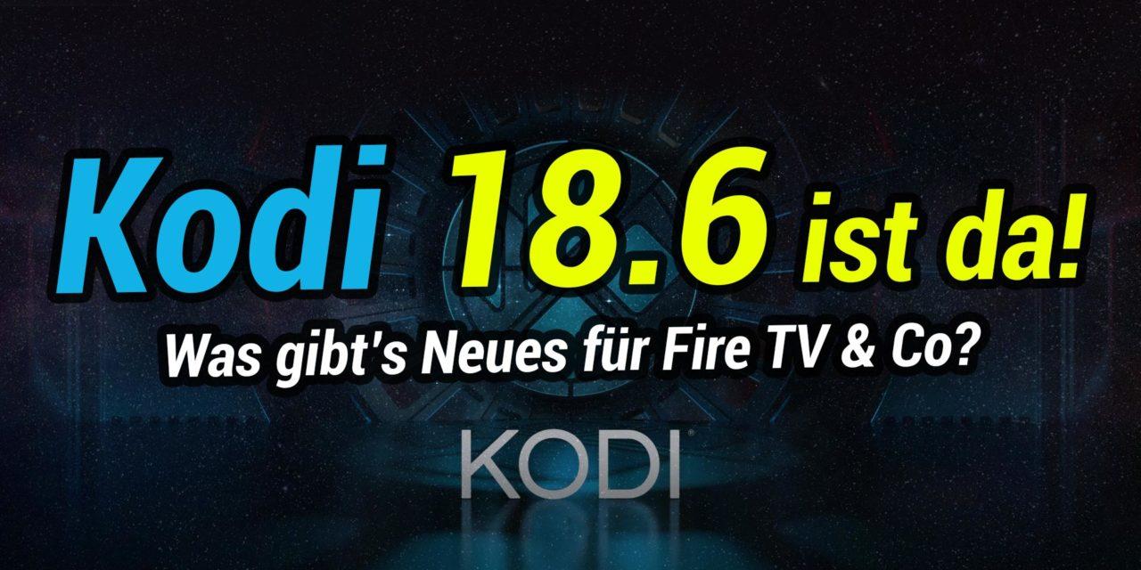 Kodi 18.6 Final erschienen! Wir zeigen, was es Neues gibt
