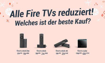 Frühe Black Friday Angebote: Alle Fire TVs reduziert – Was ist der beste Kauf?