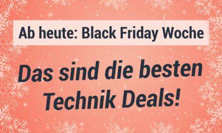 Die Black Friday Woche 2020 ist gestartet – Die besten Technik Deals