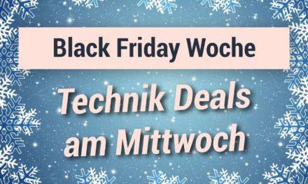 Die Technik Deals am Mittwoch der Black Friday Woche