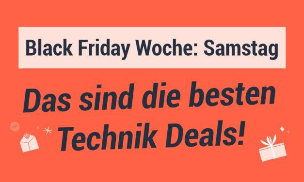 Black Friday Woche – Die besten Technik Deals am Samstag