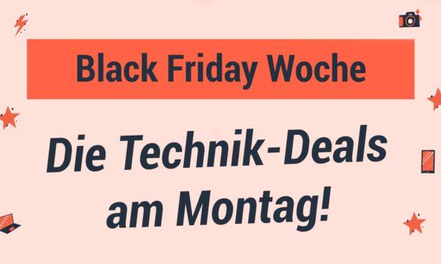 Black Friday Woche – Die Technik Deals am Montag