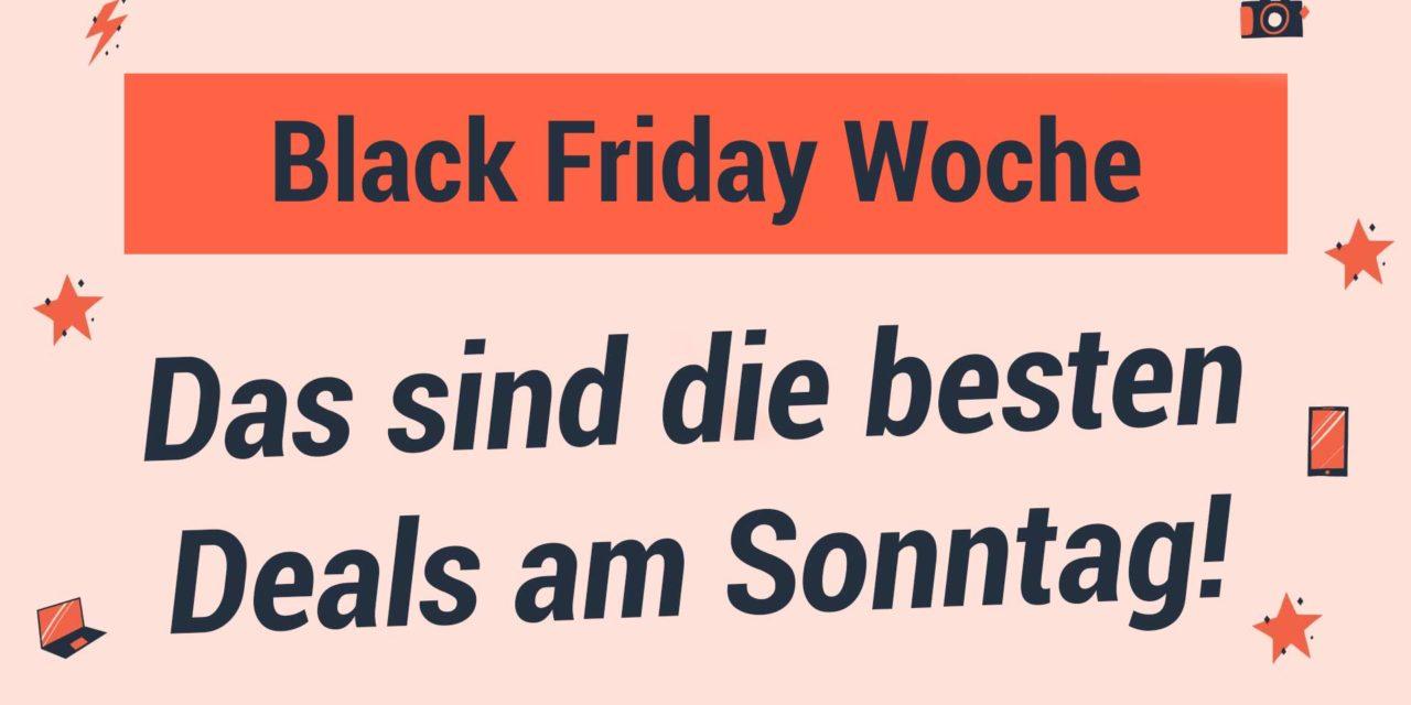 Black Friday Woche: Die besten Deals am Sonntag