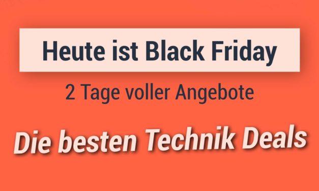 Heute beginnt der Black Friday