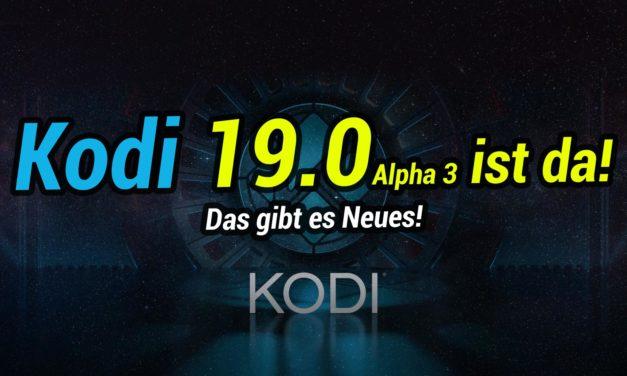 Kodi 19.0 Alpha3 erschienen: Was gibts neues fürs Fire TV?